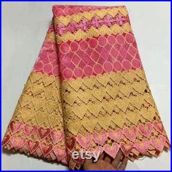 Two Shade Swiss Voile Lace In Switzerland High Quality African Lace Fabric Embroiderey Nigerian Lace Fabric For Garment Bridal Lace