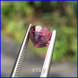 Vivid 2.26 carat Neon Bubble-Gum Pink Untreated Natural Spinel Cushion Cut