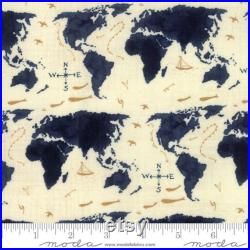 Weather Permitting Map Quilt Kit