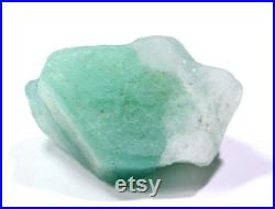 Zambian Emerald Specimen Rough Natural Zambian Emerald Stone Rough 50.70 Carat Size 27x23x15 MM SKU-6056