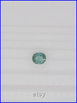 natural tourmaline oval 9,6x8mm faceted